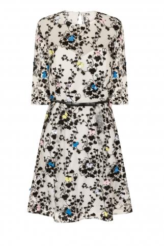 Embrod Midi Dress