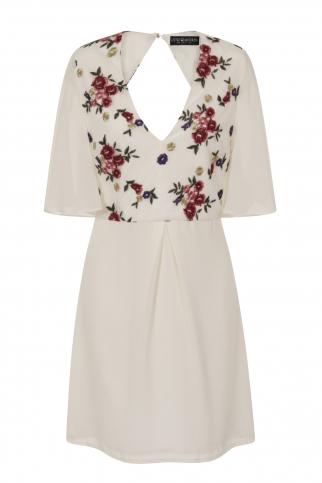 Embrod Mini Dress