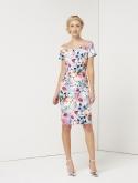 Print Barodt Dress