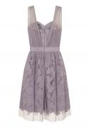 Grey Prom Dress