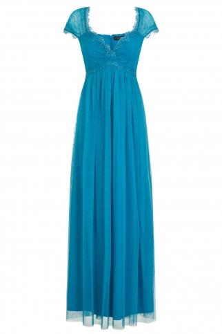 Turquoise Maxi Dress