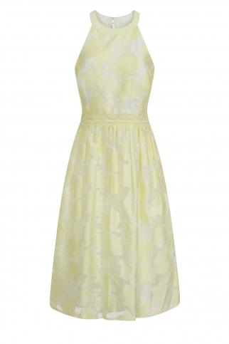 Lemon Midi Dress