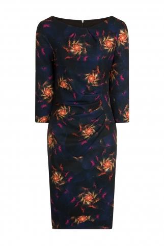 Flame Print Dress