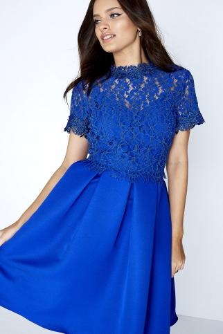 Cobalt Lace Prom