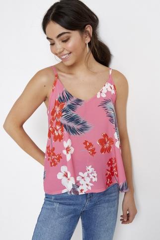 Pink Tropical Cami